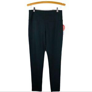 Alexander Jordan black slimming cropped leggings